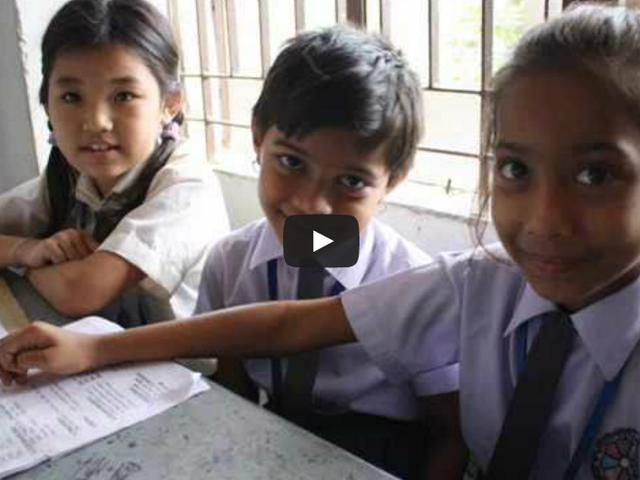 バングラデシュの子供たち