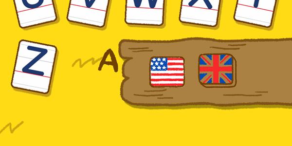 アメリカ英語とイギリス英語の発音が学べる子供向けiPhoneアプリ