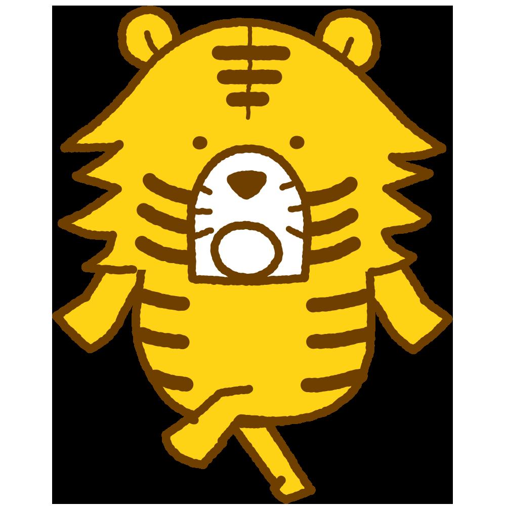 きままなトラ LINEスタンプ アニメーション